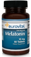 EuroVital® MELATONIN 10mg (Time Release)