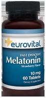 EuroVital® MELATONIN 10mg (Fast Dissolve)