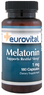 EuroVital® MELATONIN 1mg