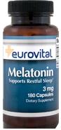 EuroVital® MELATONIN 3mg