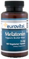 EuroVital® MELATONIN 5mg